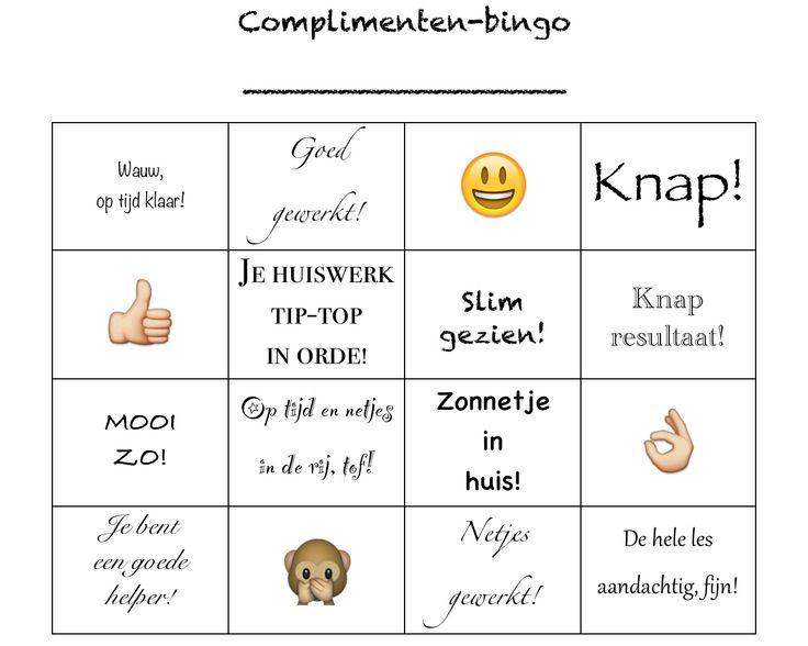 Voorkeur Extreem Bingo Spelen In De Klas JR41 | Belbin.Info BX23
