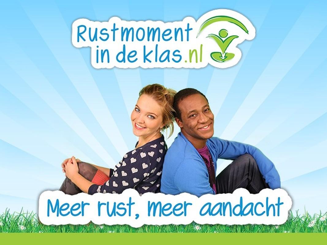 rustmoment in de klas
